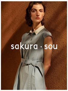 sakura·sou-2020S&S灰色连衣裙