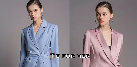 TieForHer女式西服诚邀您的加盟