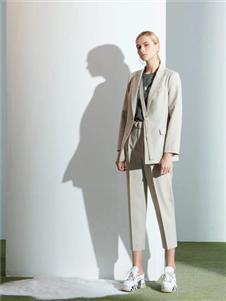 沙与沫2020春款西装外套