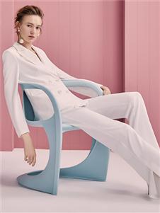 歌锦2020春款白色西装