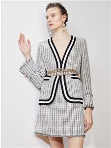 歌锦2020春款格子外套