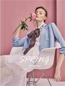 歌锦2020春款蓝色西装
