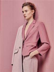 歌锦2020春款粉色外套