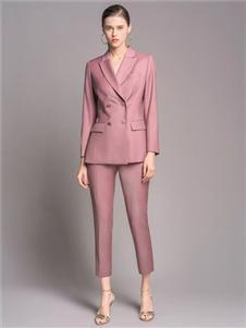 TieForHer2020春款粉色西装