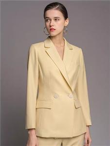 TieForHer2020春款黄色西装