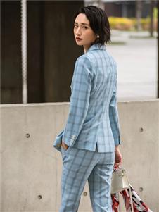 TieForHer2020春款格子西装