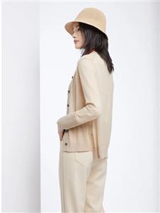 法路易娜女装法路易娜2020春款针织开衫