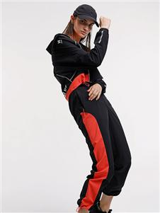Hotsuit2020新款珊瑚色运动服