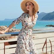 例格春新款印花裙 让你优雅整个春天!