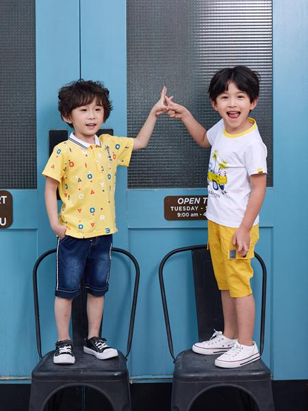 嗒嘀嗒童装夏新款T恤