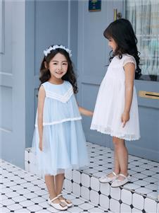 嗒嘀嗒女童2020连衣裙