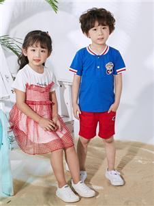 嗒嘀嗒童装夏时尚新款