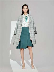 凡恩女裝格子外套
