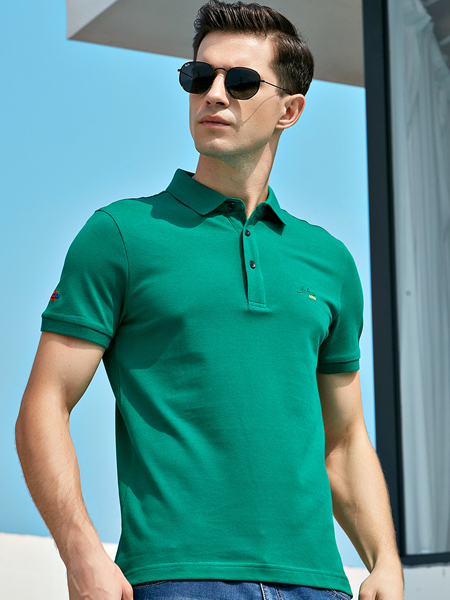 法拉狄奥2020新款绿色polo衫