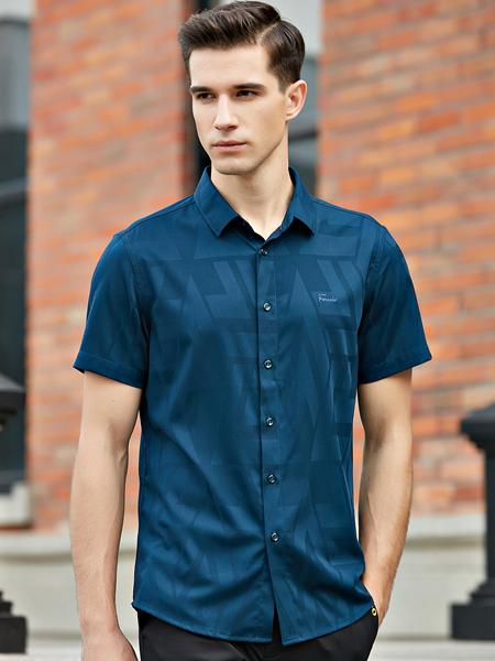 法拉狄奥2020新款短袖衬衫