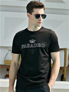 法拉狄奥2020黑色T恤
