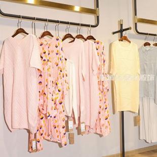 【莫名】20春夏裝,專柜文藝品牌女裝,真絲連衣裙批發