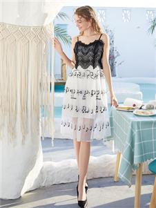 莉雅莉萨LIYALISA2020蕾丝裙
