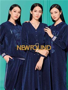 纽方2020春款V领连衣裙