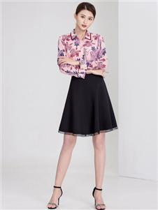 迪丝爱尔时尚印花衬衫