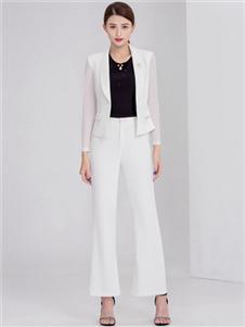 迪丝爱尔女装白色小西服