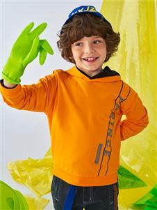 青蛙王子男童卫衣2020新款