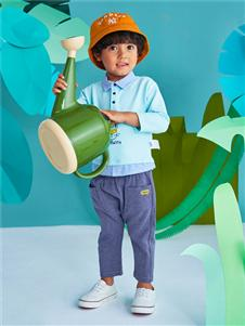 青蛙王子男童时尚上衣