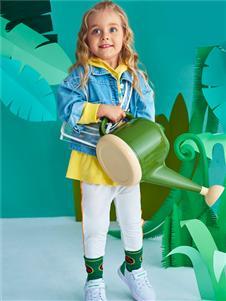 青蛙王子女童时尚外套
