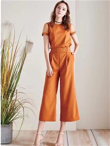 衣魅人2020夏新款優雅套裝
