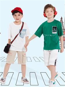 铅笔俱乐部男童T恤