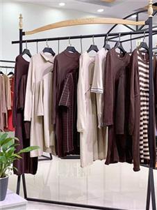 衣言品牌折扣女装棉麻连衣裙
