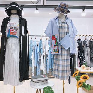 深圳原創品牌慕緹奧2020夏品牌折扣尾貨走份批發
