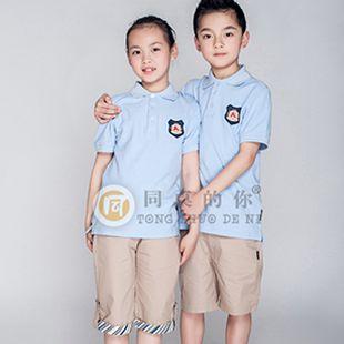 夏季運動小學生校服廠家直銷定制定做廠家直供
