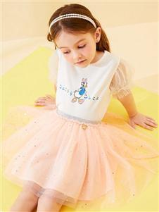 迪士尼宝宝女童公主裙