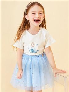 迪士尼宝宝女童时尚半裙