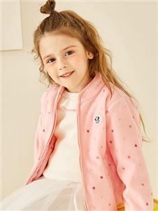 迪士尼宝宝新款粉色外套