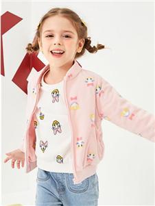 迪士尼宝宝女童春秋新款外套
