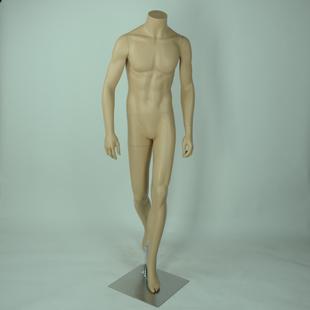 时尚环保的半身模特,可随意摆动的全身软体模特
