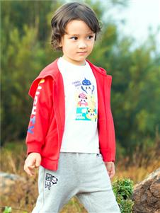 红蜻蜓新款时尚童装