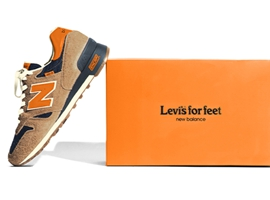 Levis和Newbalance推出限量联名鞋款