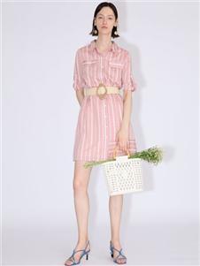 betu百图条纹裙
