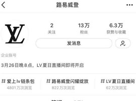 "LV直播首秀花落小红书,直播是""社区+电商""的交叉点吗"