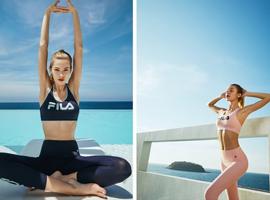 塑造优雅线条,FILA 首次推出运动内衣系列