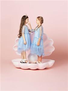 水孩儿女童夏吃饭新款可爱裙子