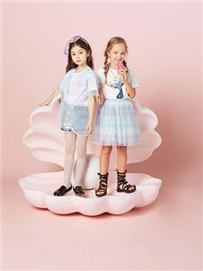 水孩儿女童夏时尚套装裙