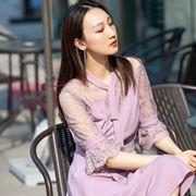 Spring │穿一件卡索灵透的淡紫色,做春日里甜蜜的优雅女人