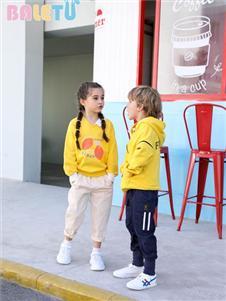 芭樂兔童裝黃色衛衣