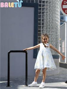 芭樂兔童裝女童連衣裙