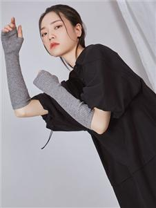 NIIJII设计师女装优雅小黑裙