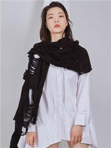 NIIJII设计师女装白色韩版衬衫